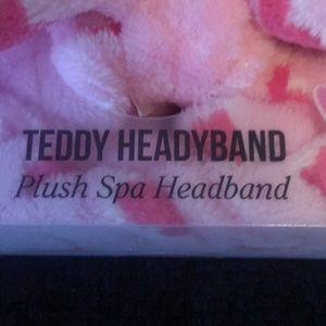 The Crème Shop Accessories - Plush Spa headband